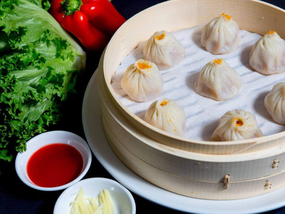 Xiaolongbao at Din Ding