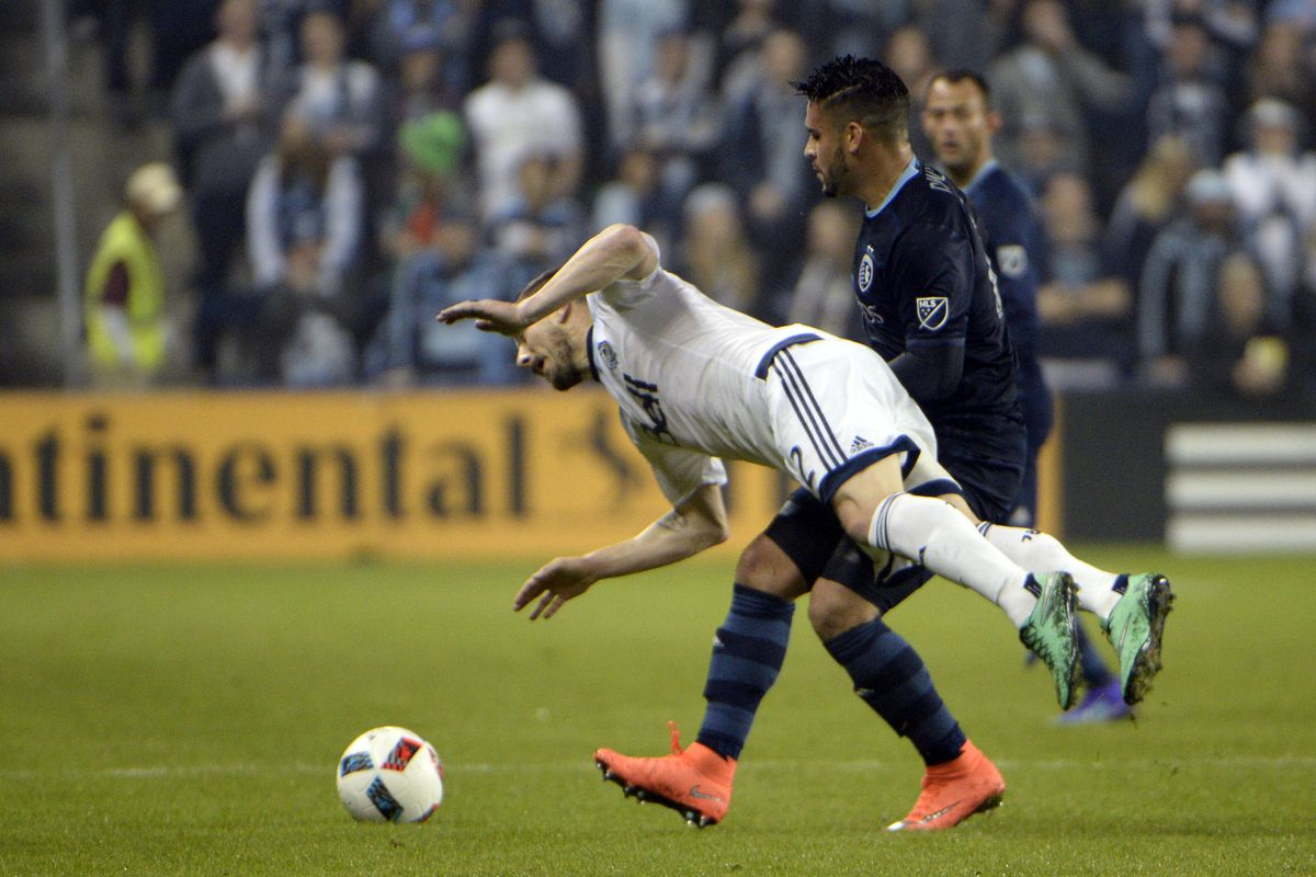 Blas Perez is trying to hover. This is why he rides the bench in Vancouver.