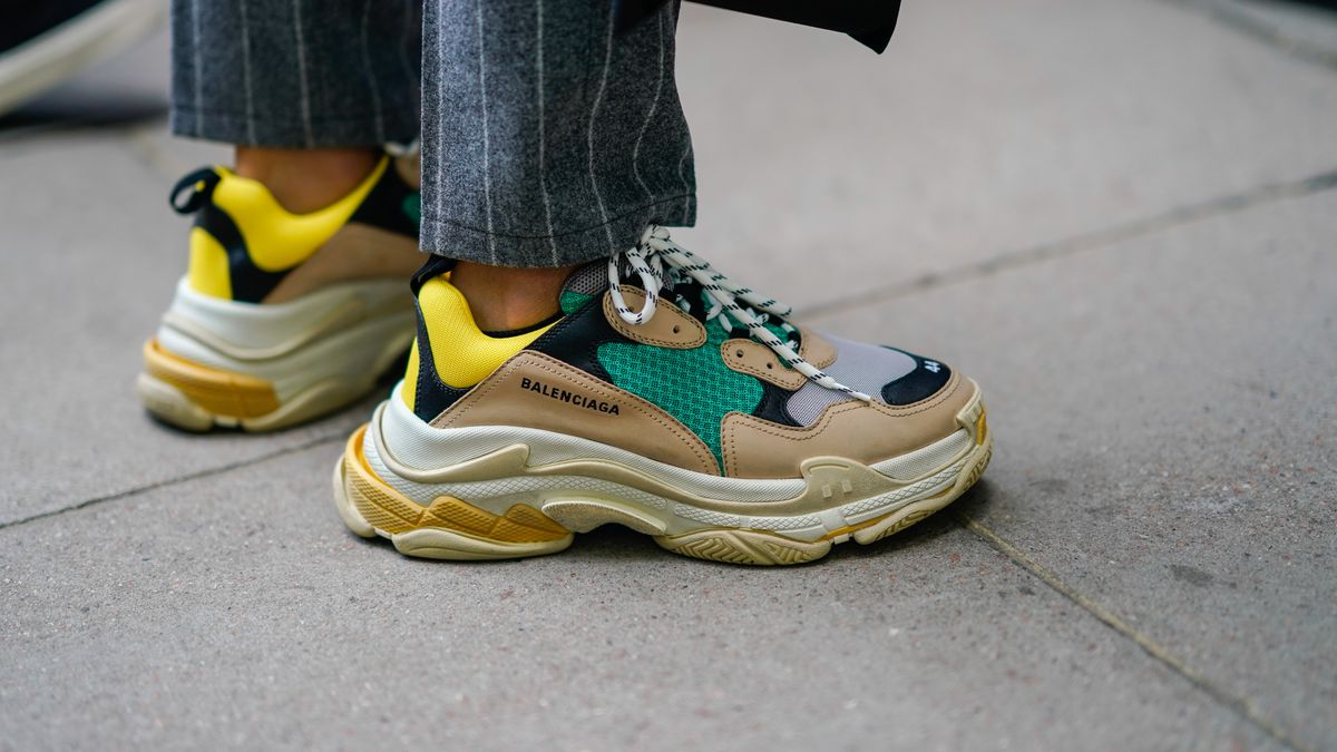 as yeezys and balenciaga sneakers surge preppy shoes are less
