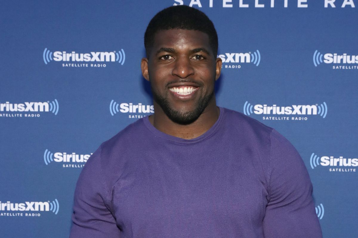 """Emmanuel Acho (pictured in 2017) will host """"After the Final Rose."""""""
