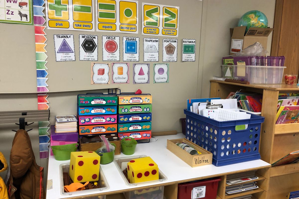A pre-K classroom at John T. Pirie Fine Arts Academic Center in Chicago's Chatham neighborhood.