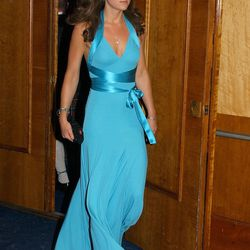 In BCBG Max Azria on June 3rd, 2006, at the Boodles Boxing Ball.