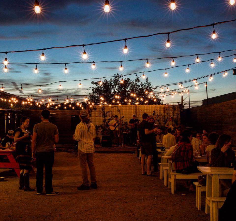 St. Elmo Brewing Company's patio
