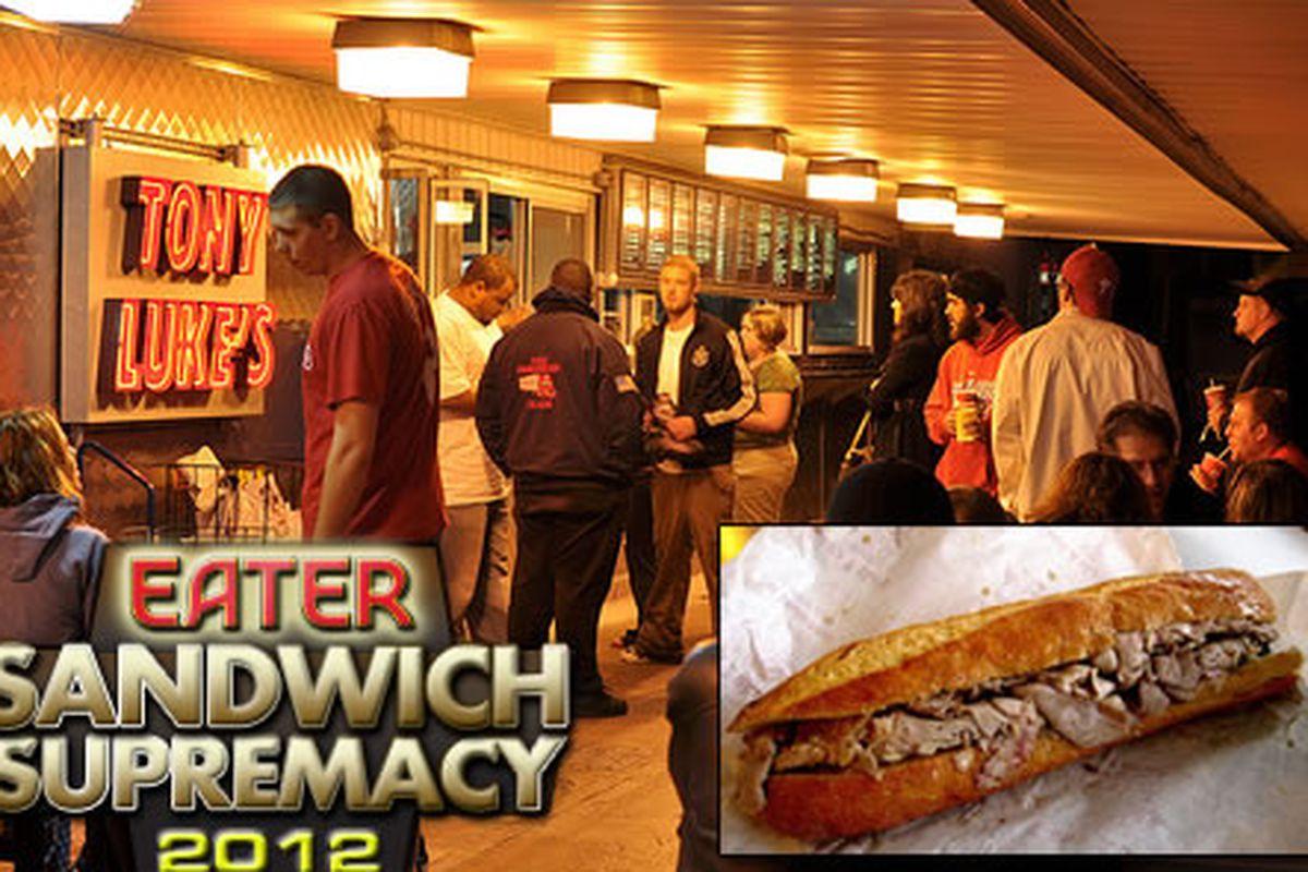 Tony Luke's wins the inaugural Sandwich Supremacy