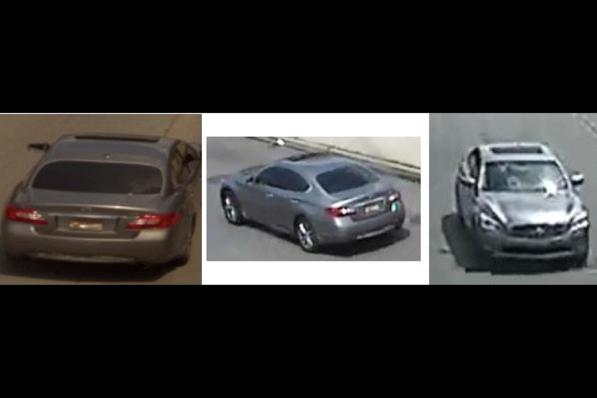 Police are looking for an Infiniti sedan in connection with the June 27, 2020, fatal shooting of a baby.
