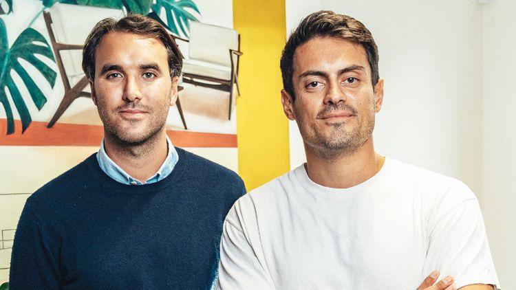 Marco Mendes and Jake Kasumov—together MJMK Restaurants