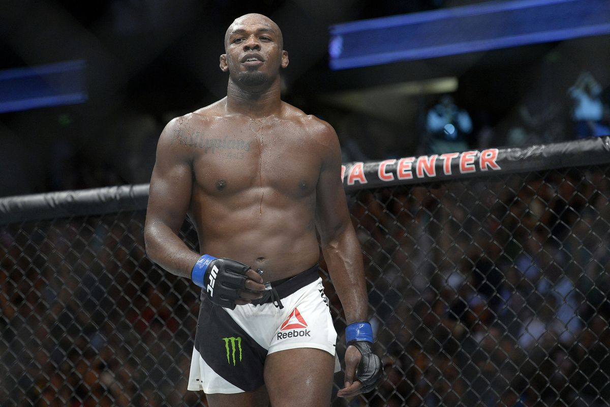 Jon Jones was at UFC headquarters this weekend taking care ...