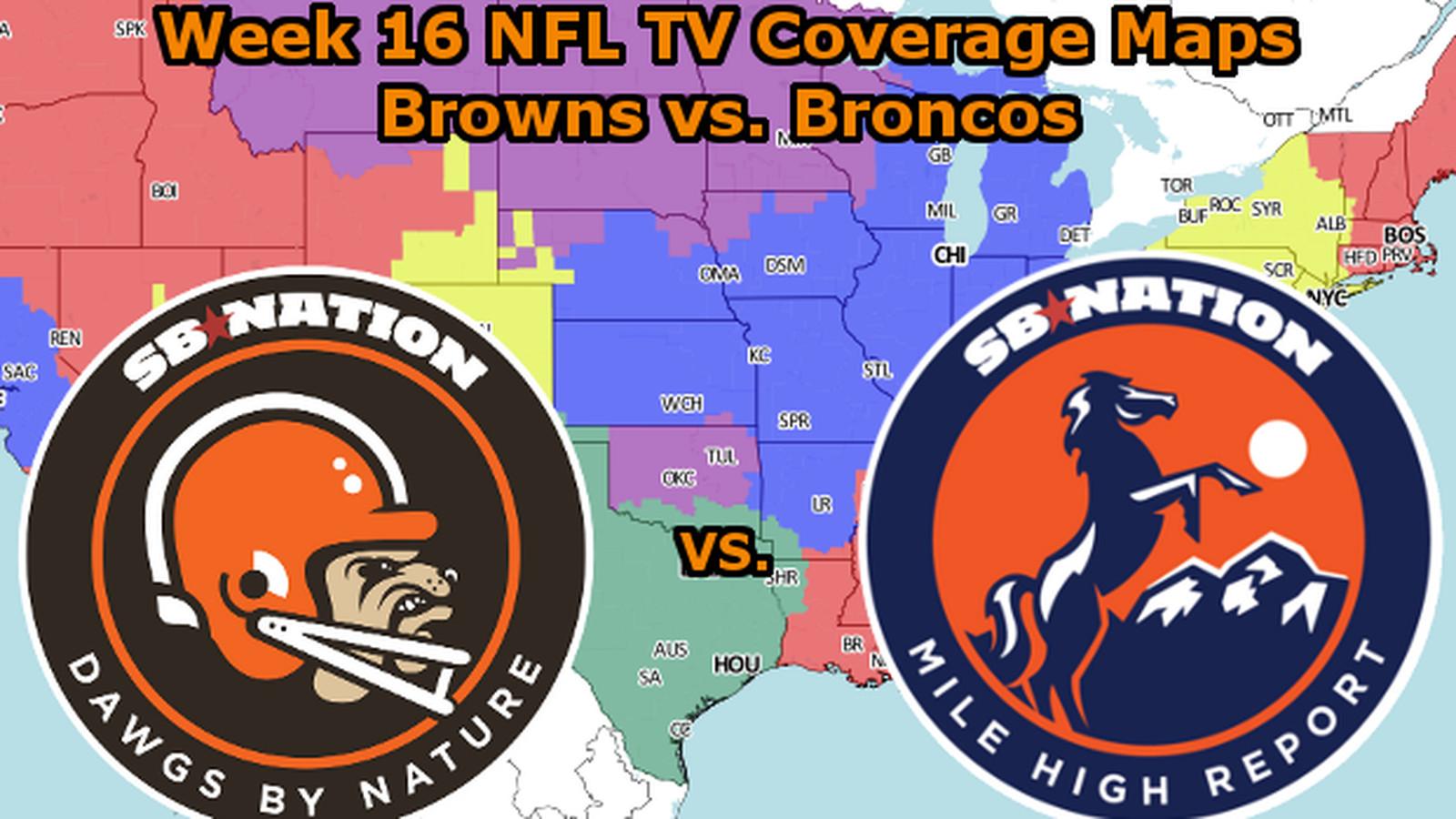 cleveland browns vs denver broncos game time tv