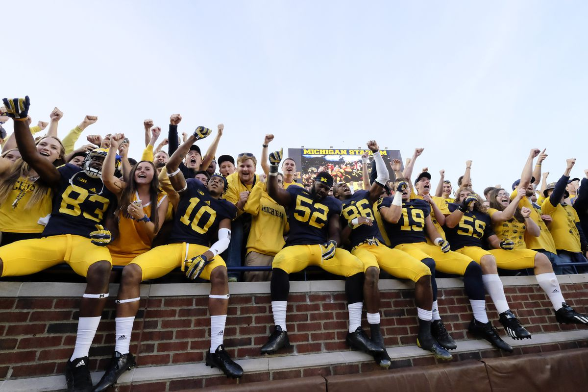 Michigan was the biggest mover this week as the Wolverines embarrassed previously unbeaten Northwestern.