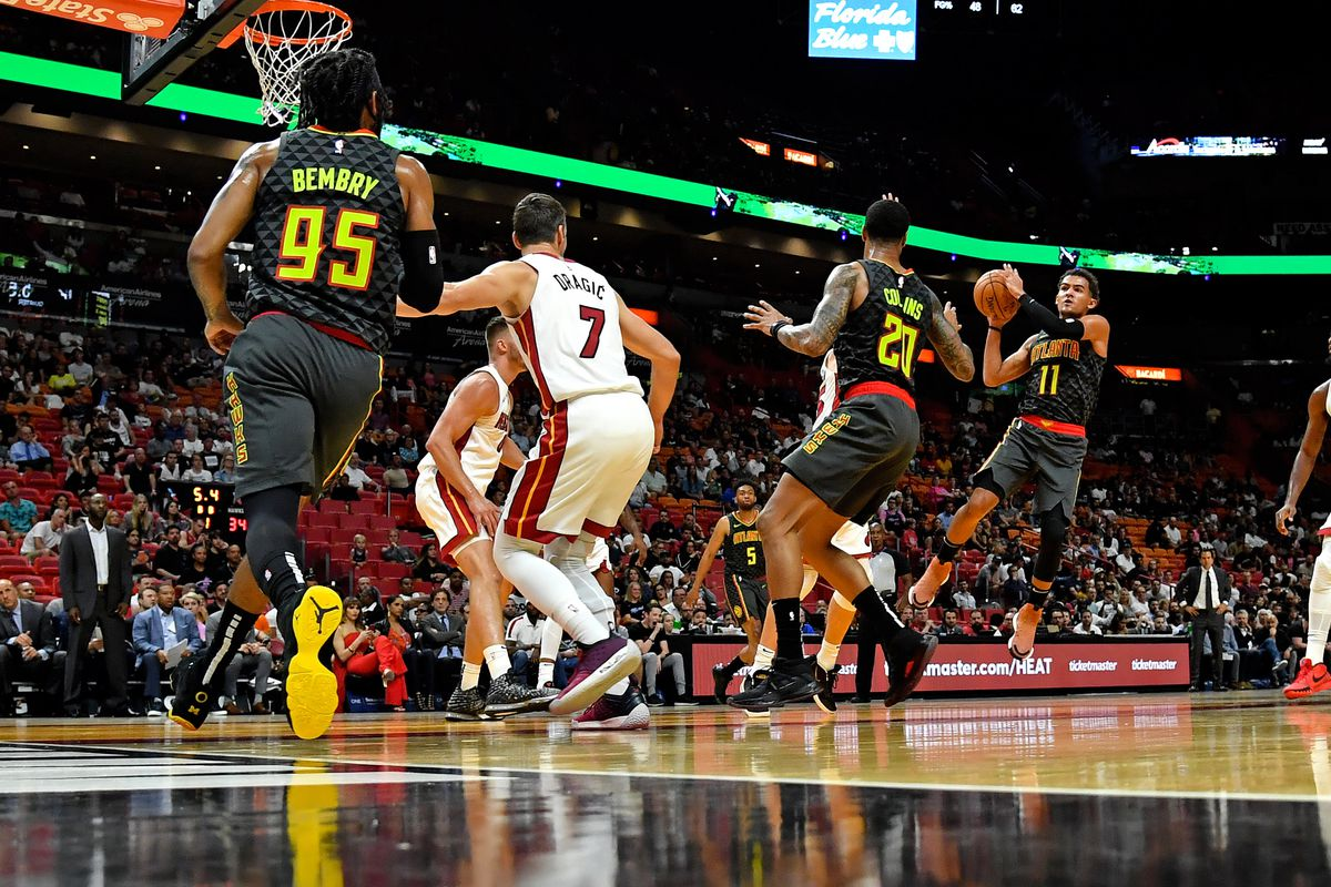 NBA: Preseason-Atlanta Hawks at Miami Heat