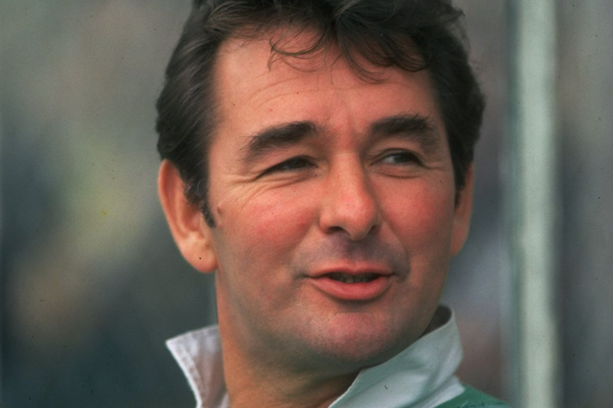 Nottingham Forest Manager Brian Clough