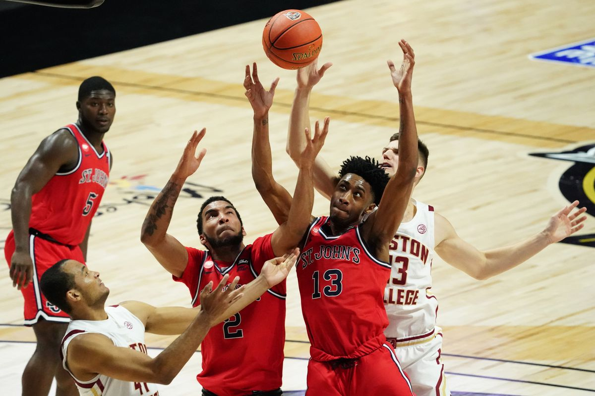 NCAA Basketball: St. John at Boston College