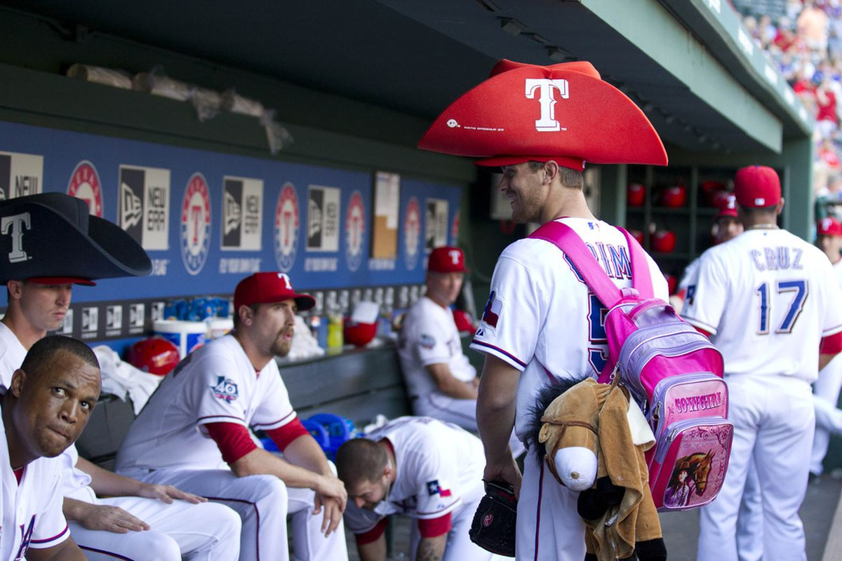 Your possible fifth starter for the Texas Rangers!
