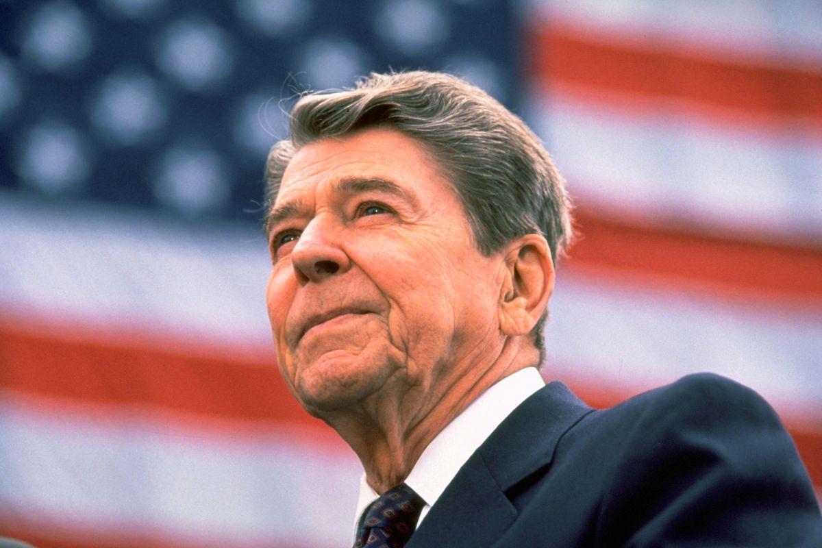 President Reagan, in 1984.