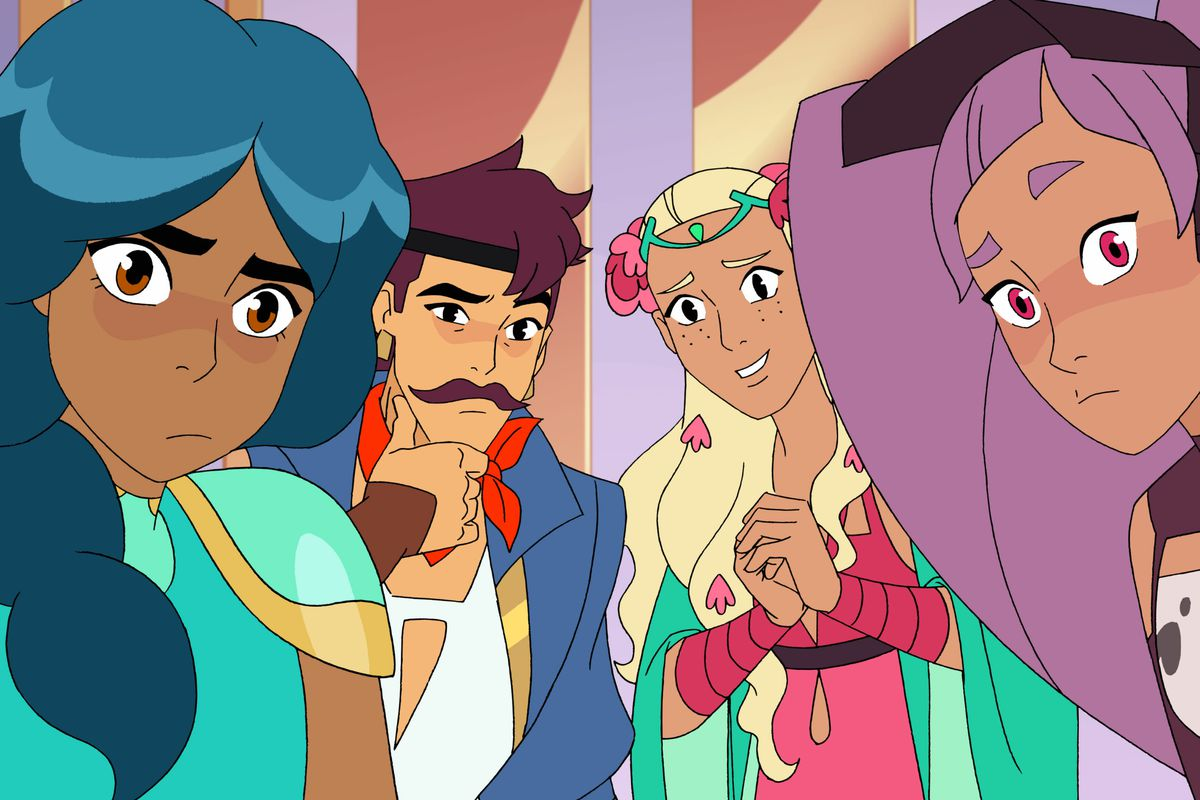 How Netflix updated the '80s She-Ra characters for Princesses of