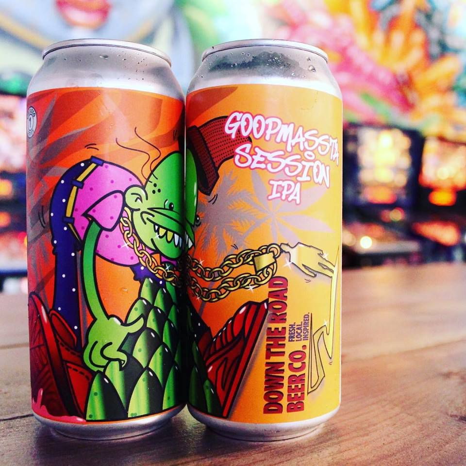 Down the Road Beer Co.'s Goopmassta Session IPA, which the state wouldn't allow to be infused with CBD