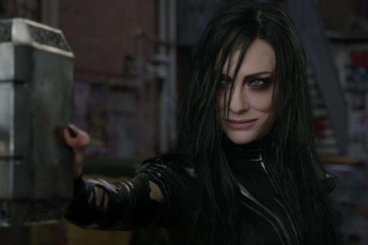 Cate Blanchett in 'Thor: Ragnarok'