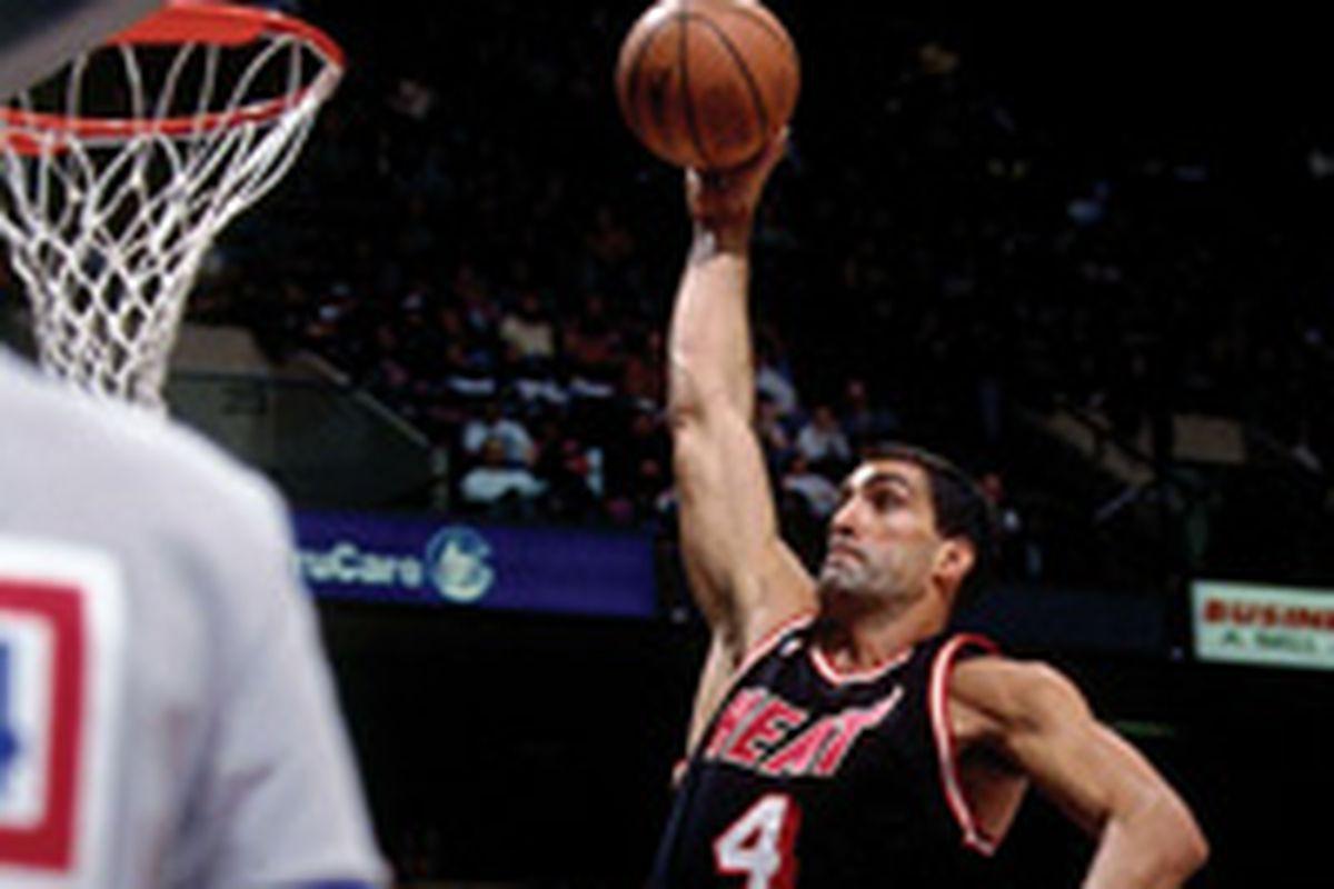 Miami Heat Player Countdown 12 Rony Seikaly Hot Hot Hoops