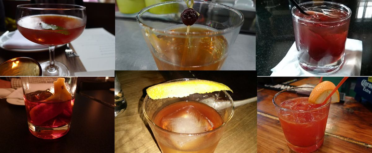 NYC old fashioneds