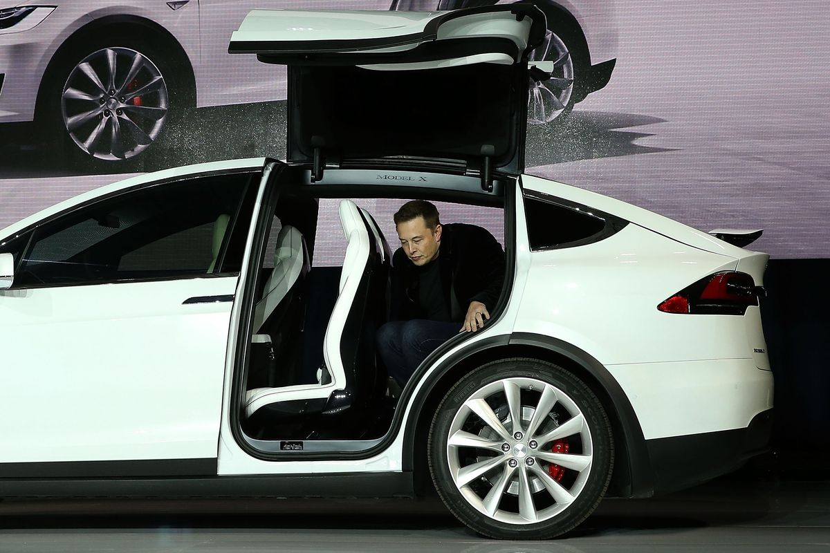 Tesla Model X recalled for third-row seats that could fold over in a ...