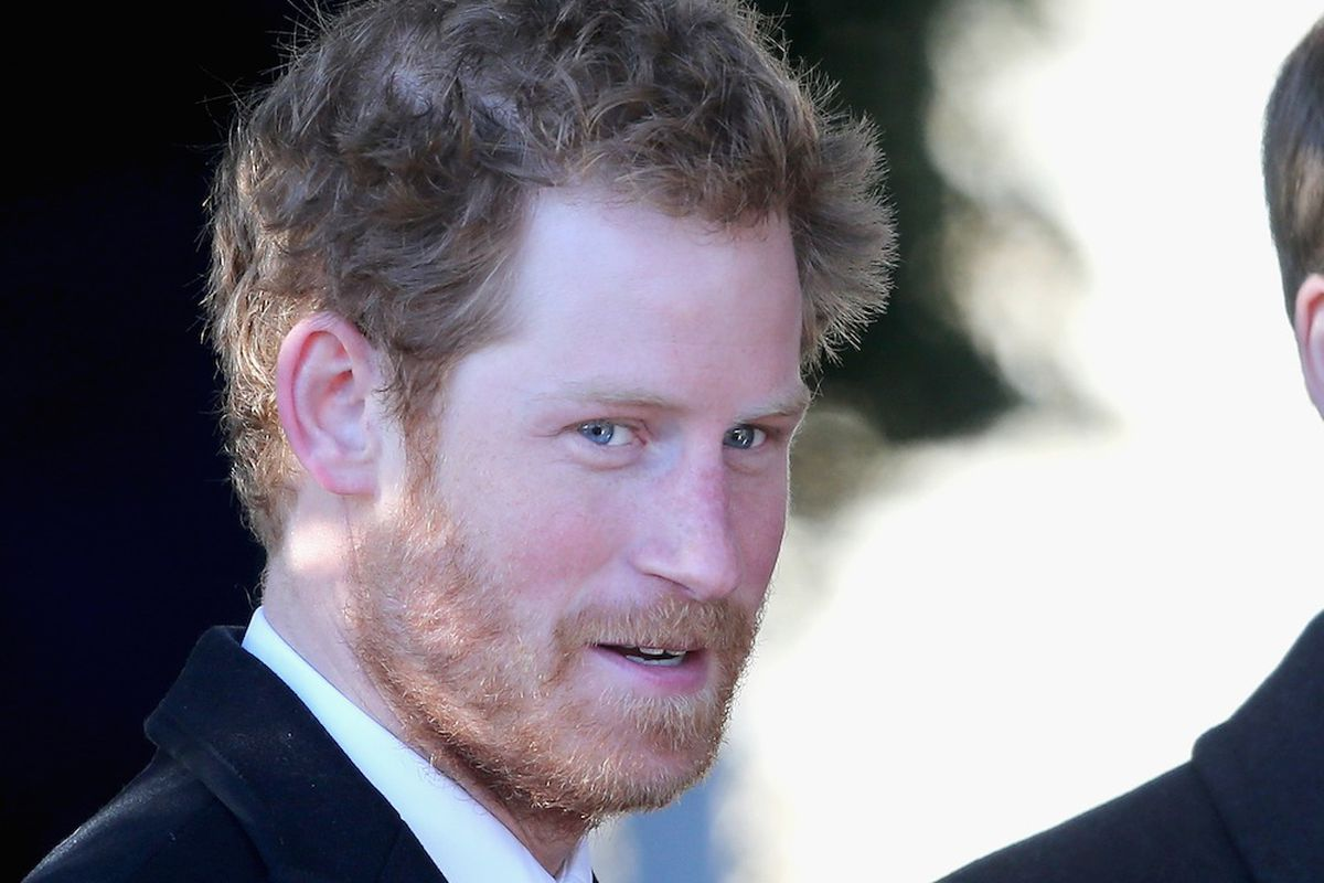 Just a prince and his beard, via Getty