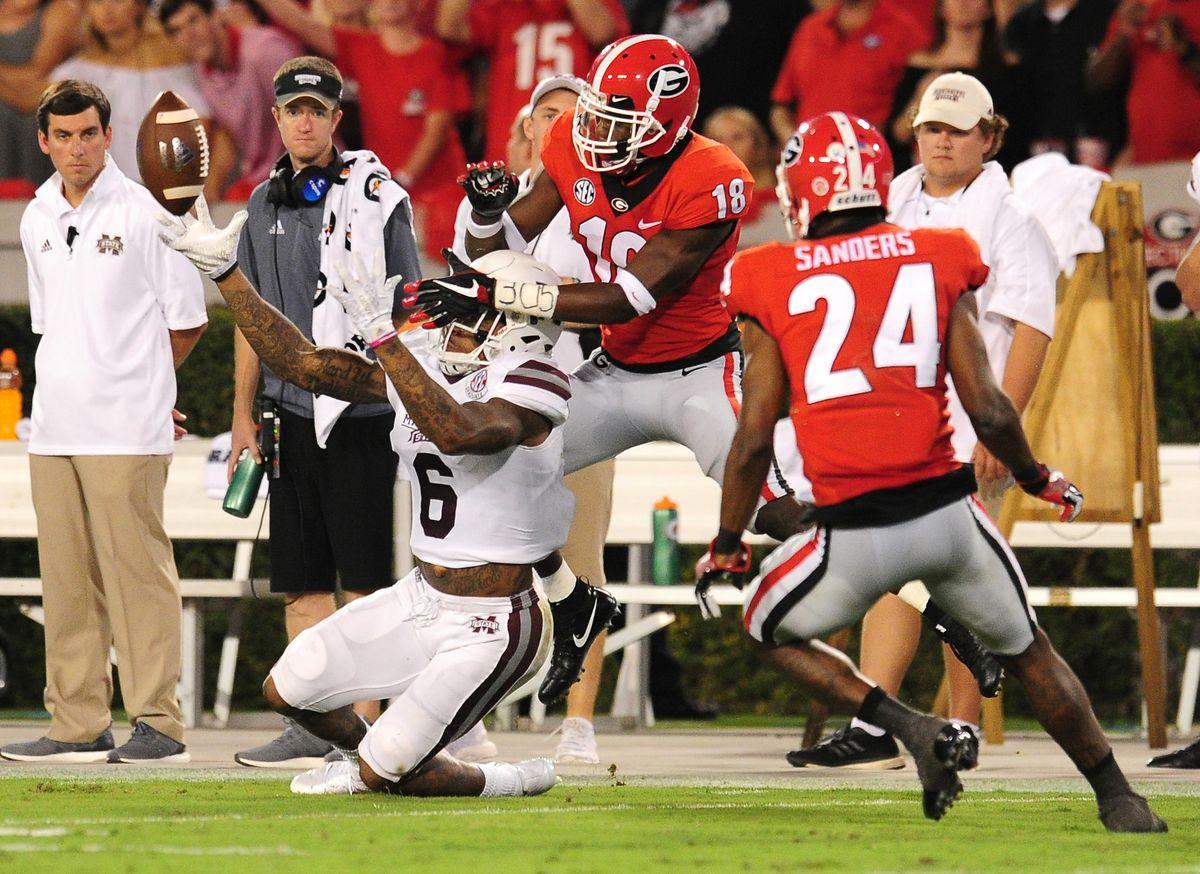 Mississippi State v Georgia