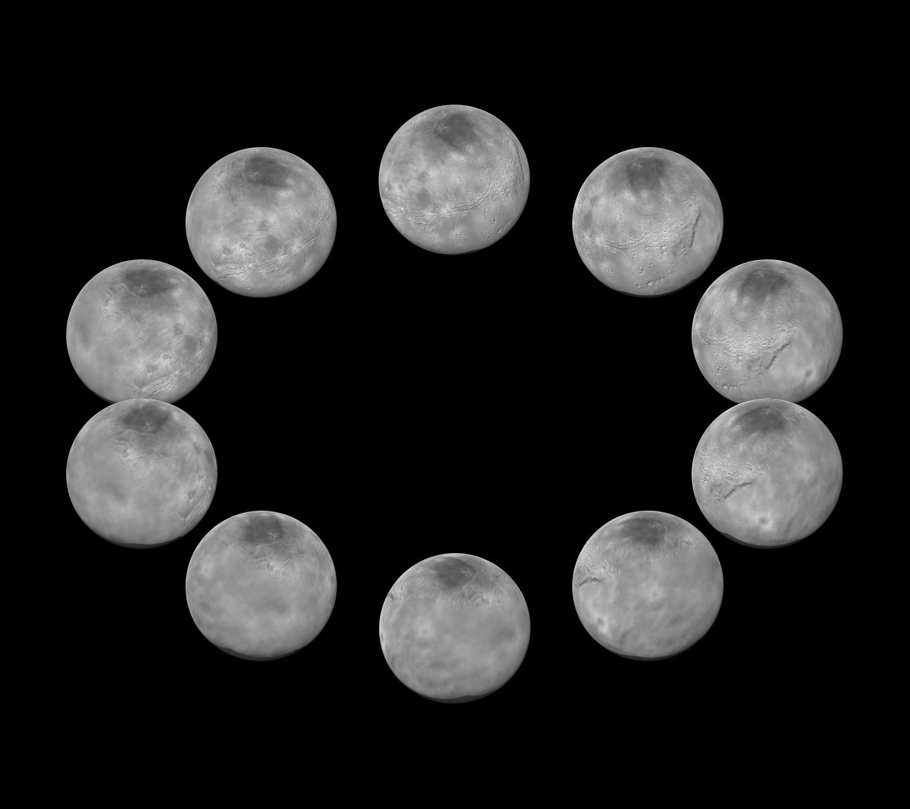 Charon Moon: A Full Work Day On Pluto Would Be A Killer