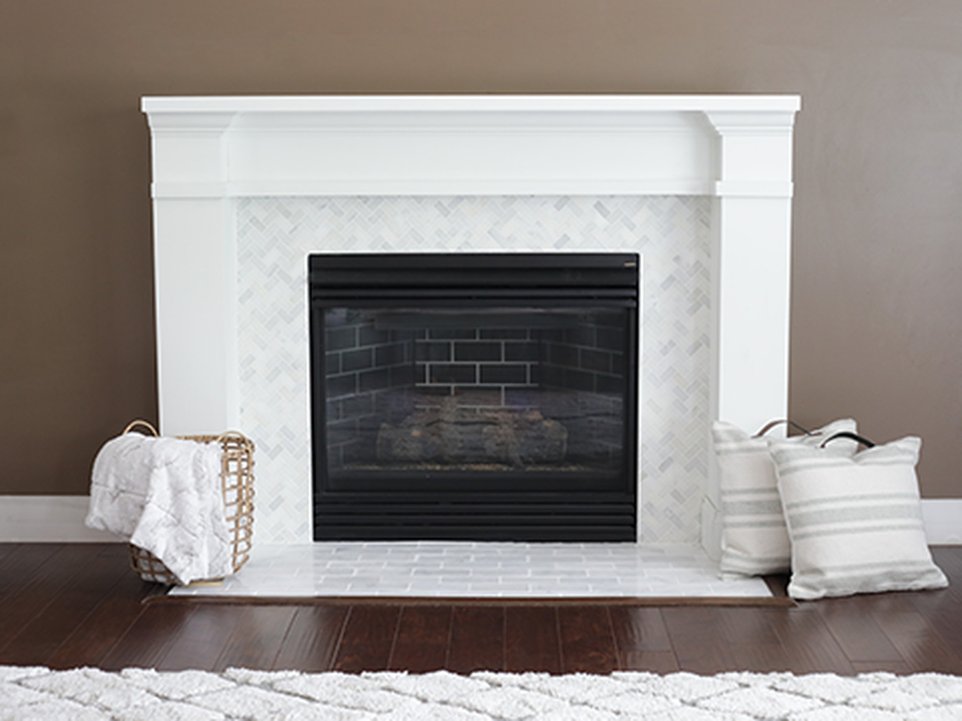 How To Tile A Fireplace This Old House