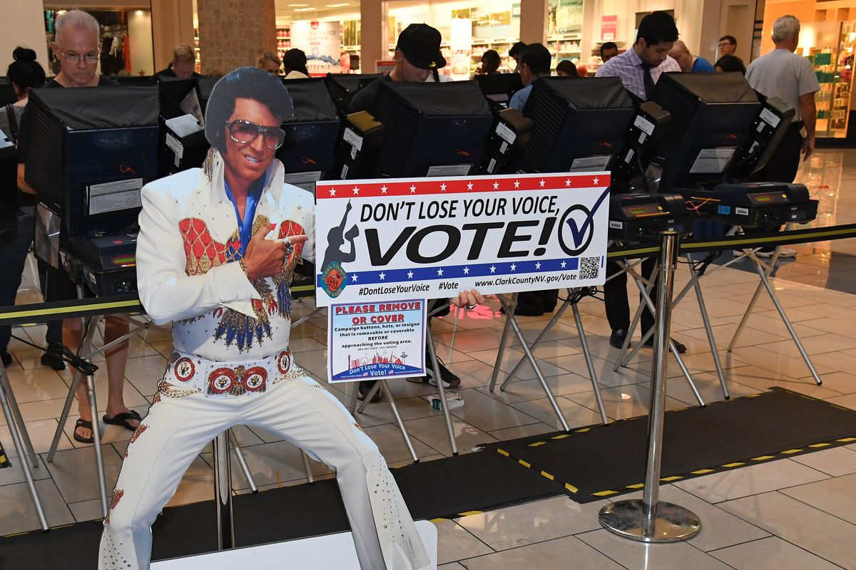 Las Vegas early voting