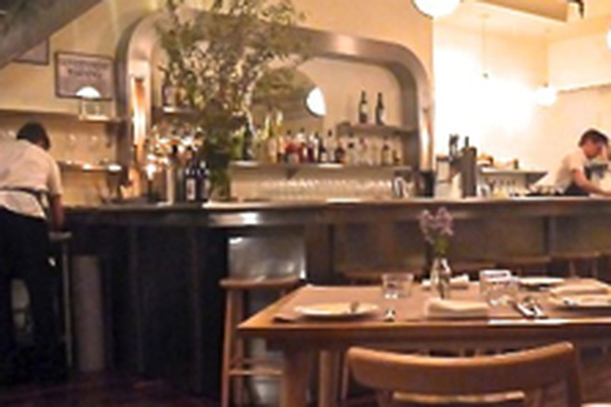 Tasting Menu Restaurant Opens Inside All Good Things Eater NY - Things found on a restaurant table