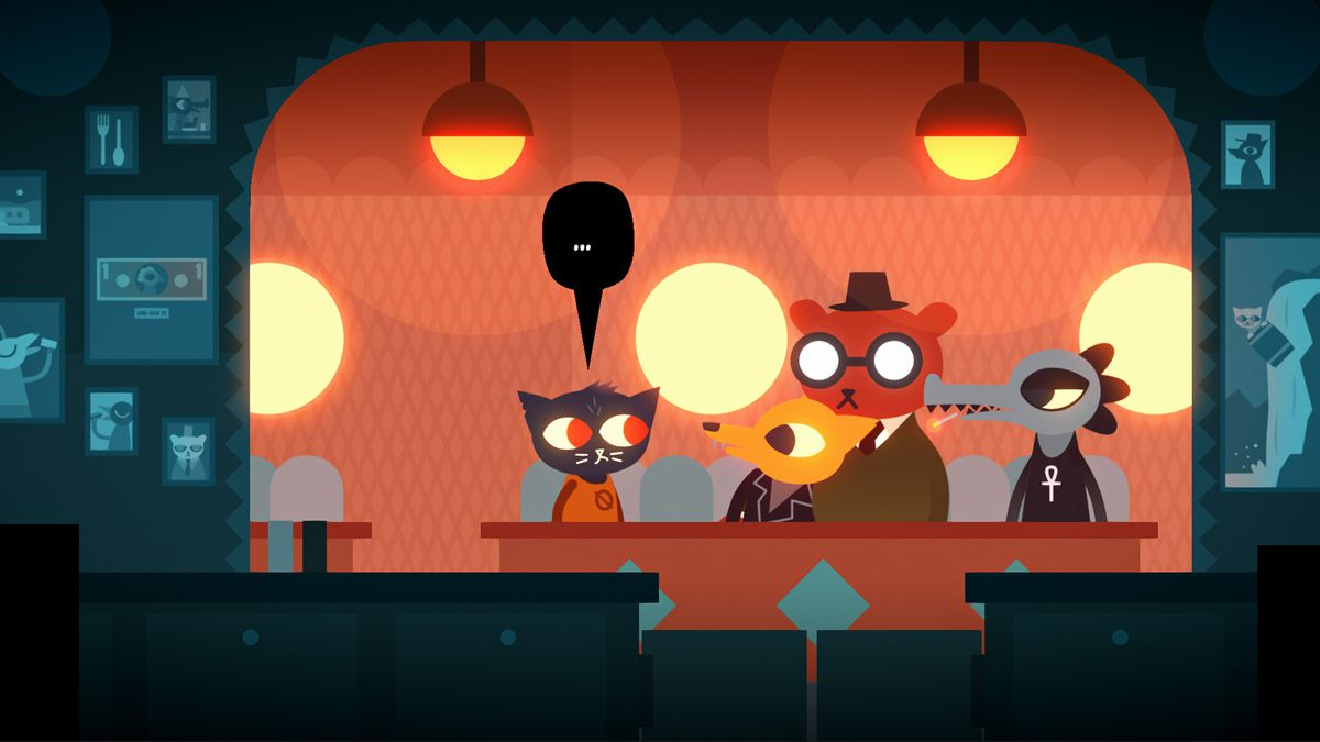 Night in the Woods bar