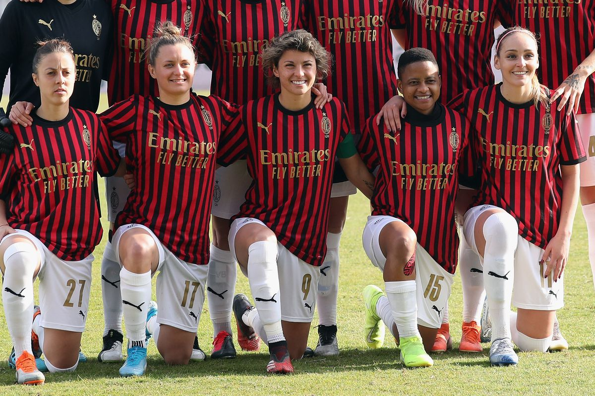 Ac Milan Women S Team Will Have An Independent Shirt Sponsor No Emirates The Ac Milan Offside