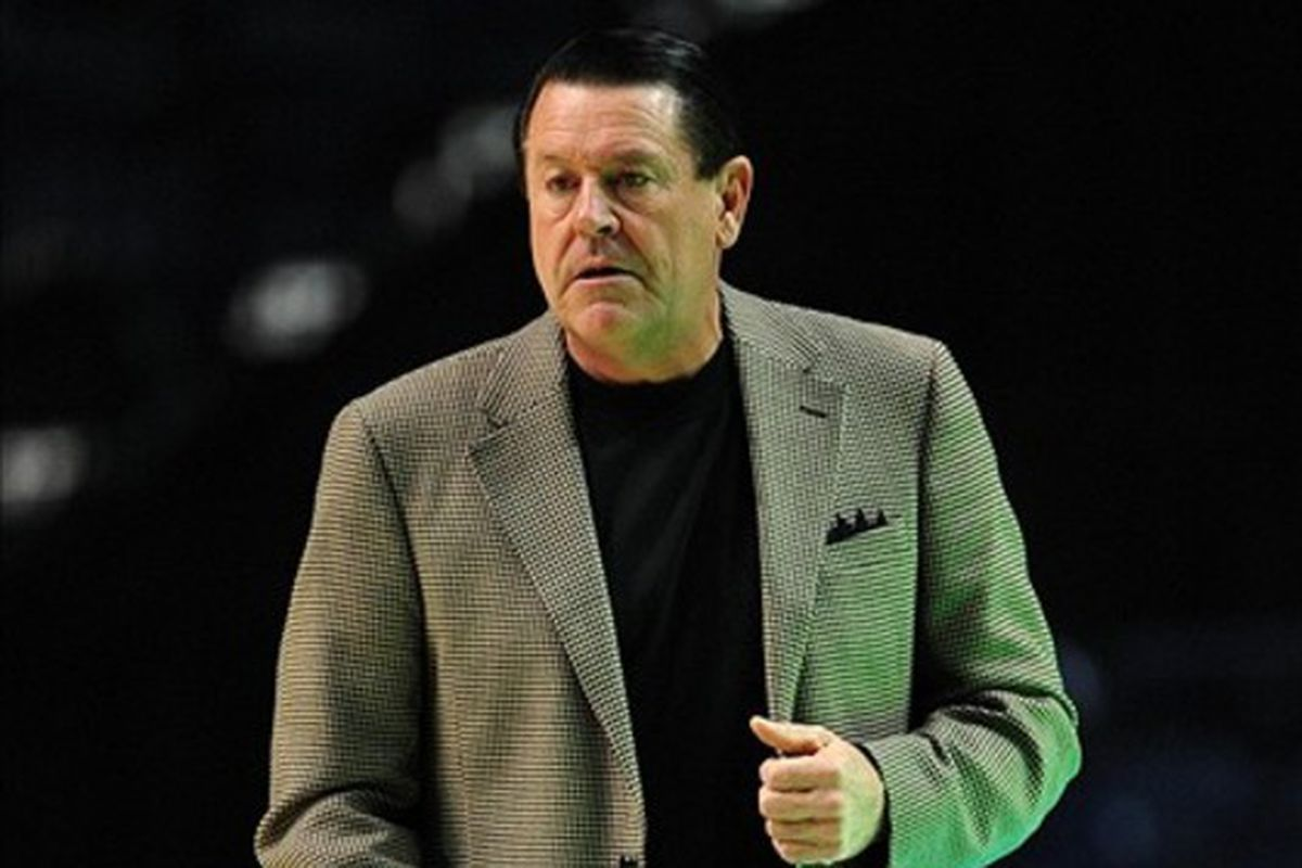 To top it all off, I couldn't find any relevant pictures in the image bank, so I'm going with Andy Landers, who coaches a successful women's team in Stegeman Coliseum.