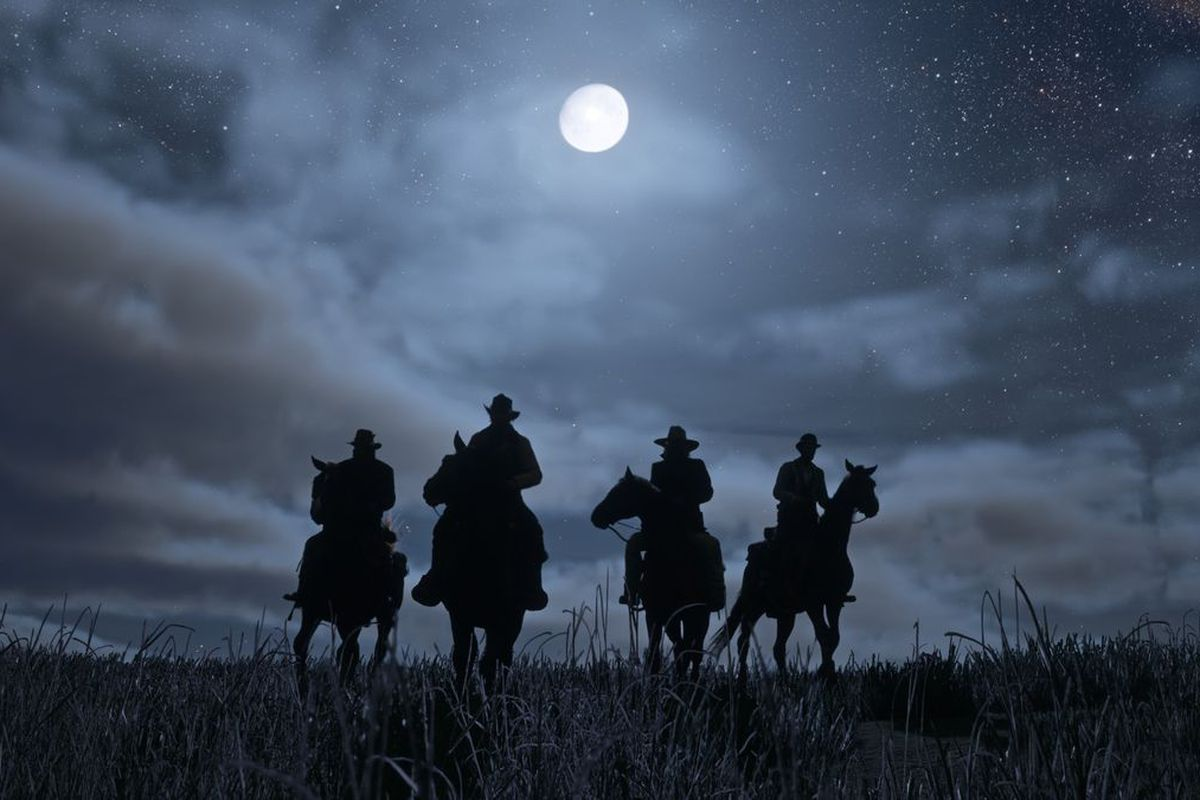 Beyond the edge of the map in Red Dead Redemption 2, things