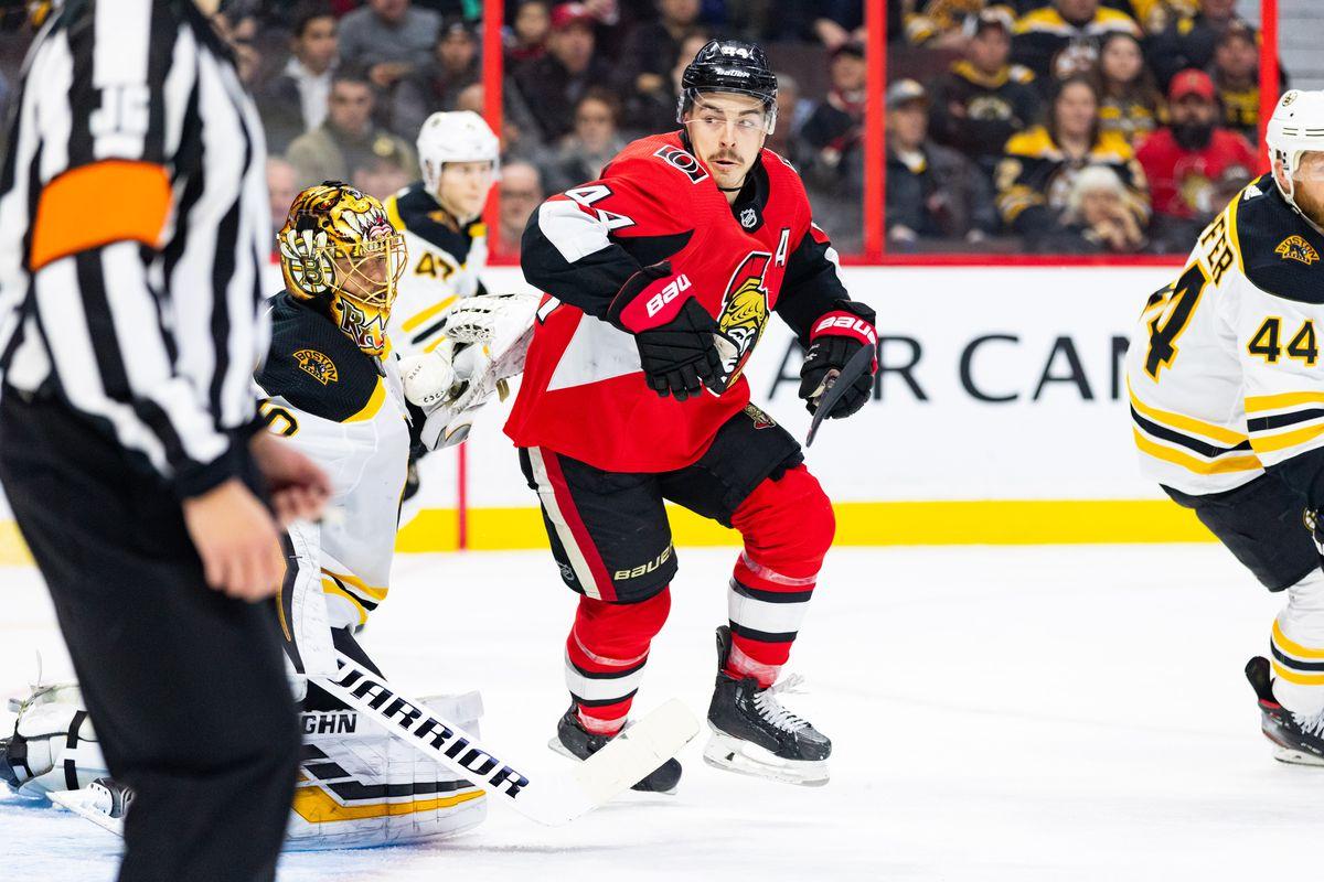 NHL: NOV 27 Bruins at Senators