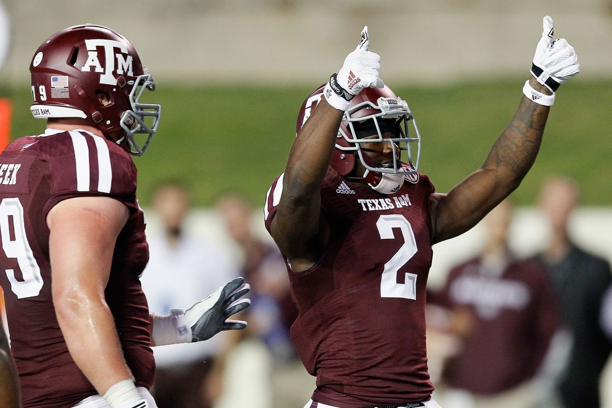 We need much more of this touchdown celebration.