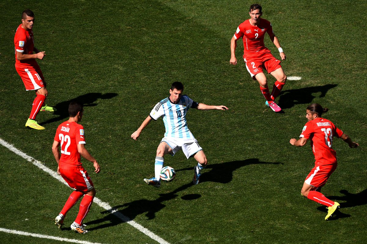 """""""Pfft like you can stop me"""" - Lionel Messi"""