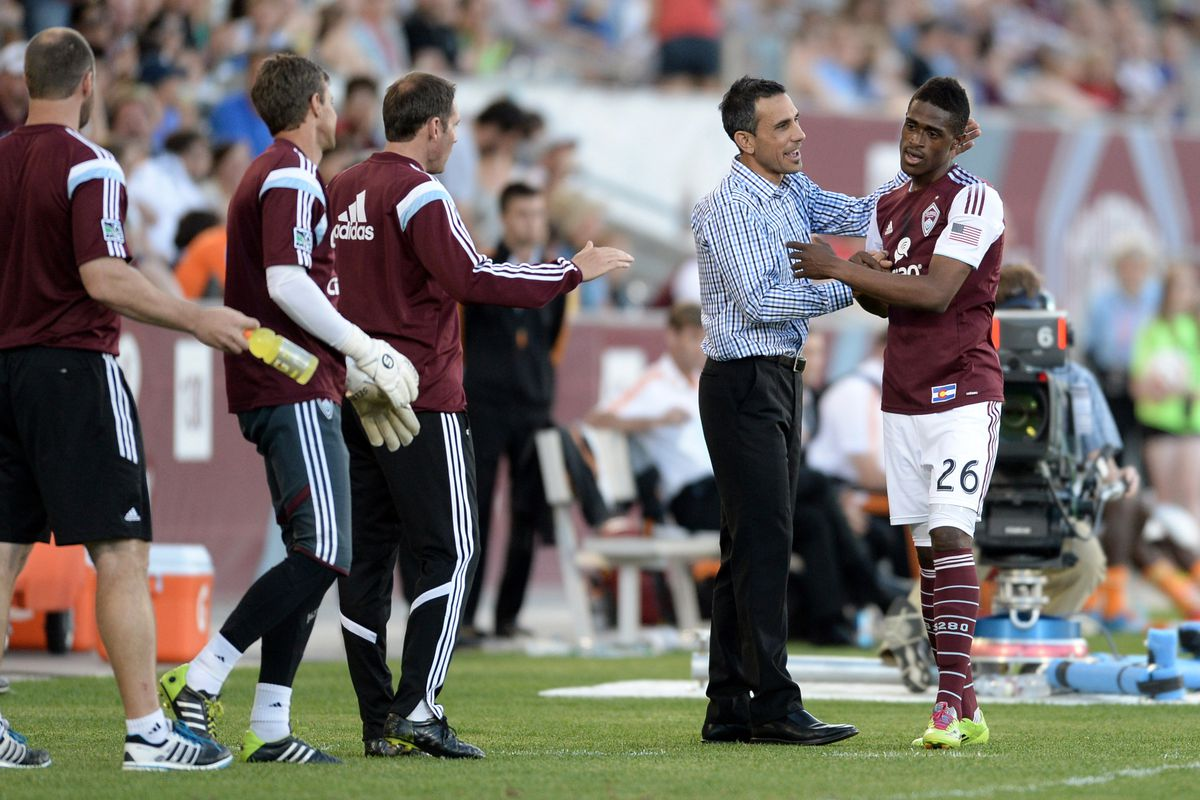Congratulations, Coach Mastroeni!  Thanks for all you've done for the Rapids, MLS, and the USMNT!