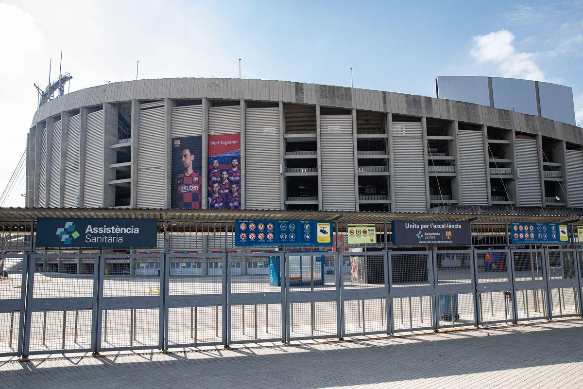 Coronavirus: Camp Nou Closed