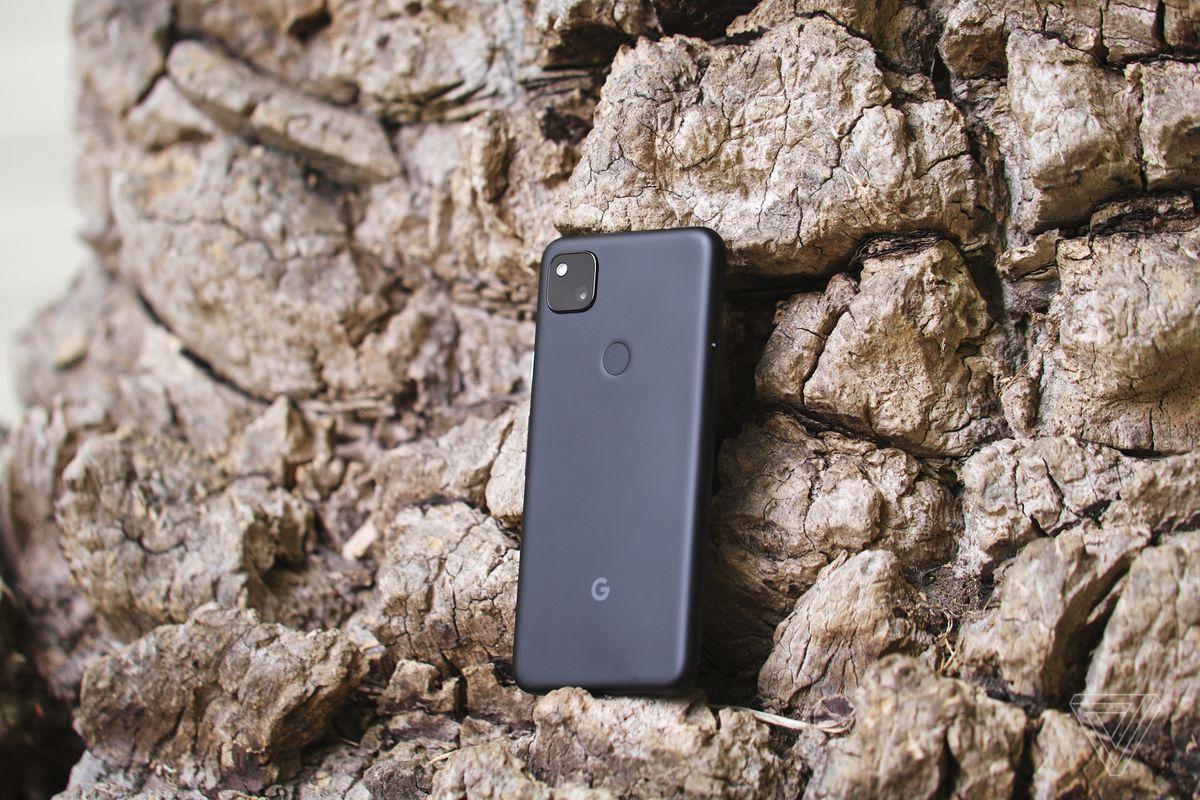 The Google Pixel 4A has a rear-mounted fingerprint sensor.