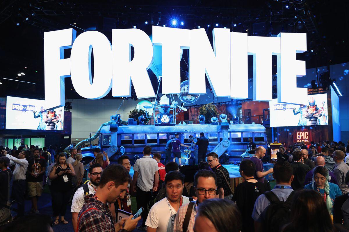 The Fortnite exhibit at E3