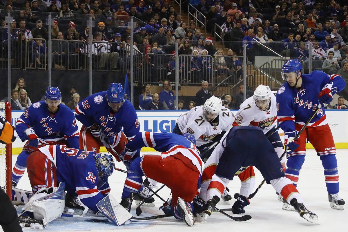 Florida Panthers v New York Rangers