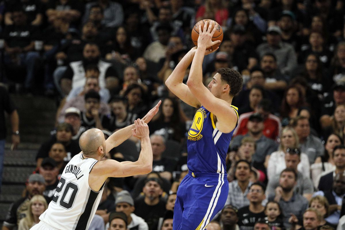f8408a6d6ea8 Analysis  Second-half surge gives the Warriors a 110-97 win and a  commanding 3-0 series lead over the Spurs