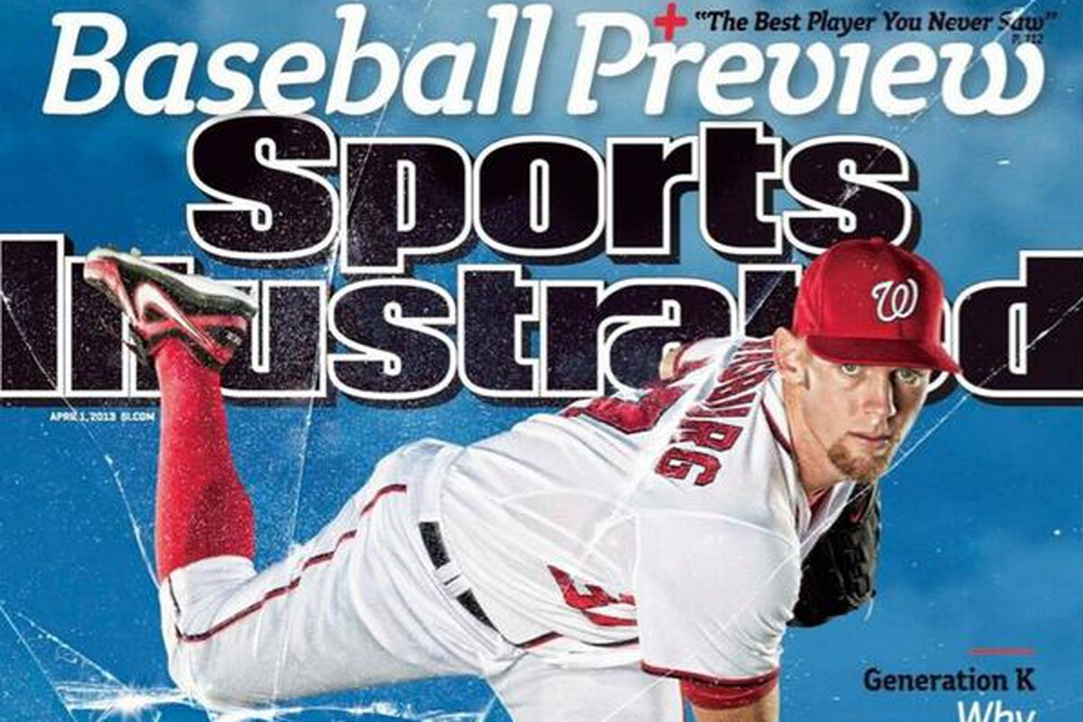 Stephen Strasburg is on one of several regional covers for the Sports Illustrated Baseball Preview