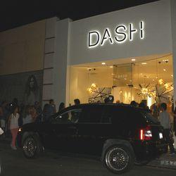 The scene at Dash