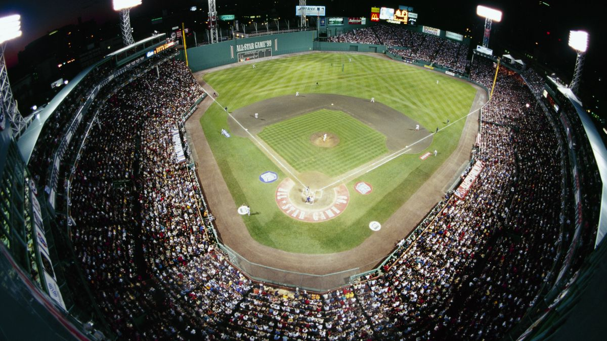 An Aerial View Of Fenway Park During The 70th Mlb All Star On July 13 1999 Al Bello Getty Images Stadium Dining Guides