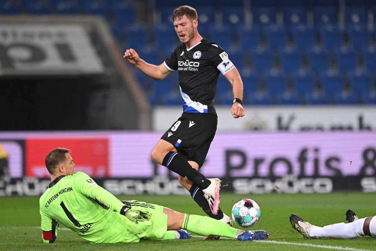DSC Arminia Bielefeld v FC Bayern Muenchen - Bundesliga