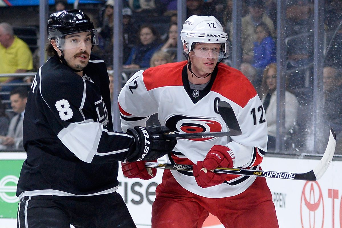 Eric Staal scored again Thursday, giving him three goals in his past two games and six on the season.