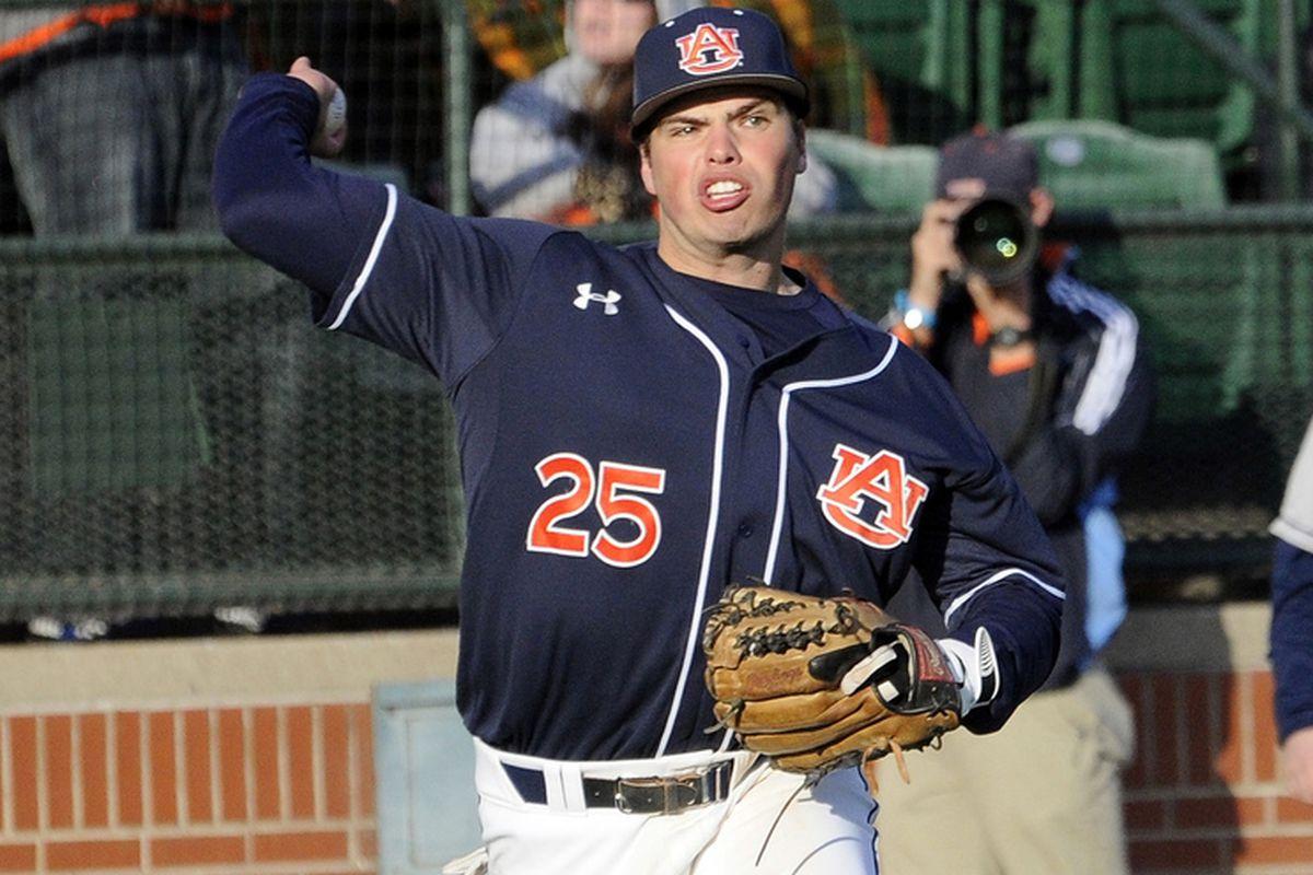Damek Tomscha had a solid debut series at third base.