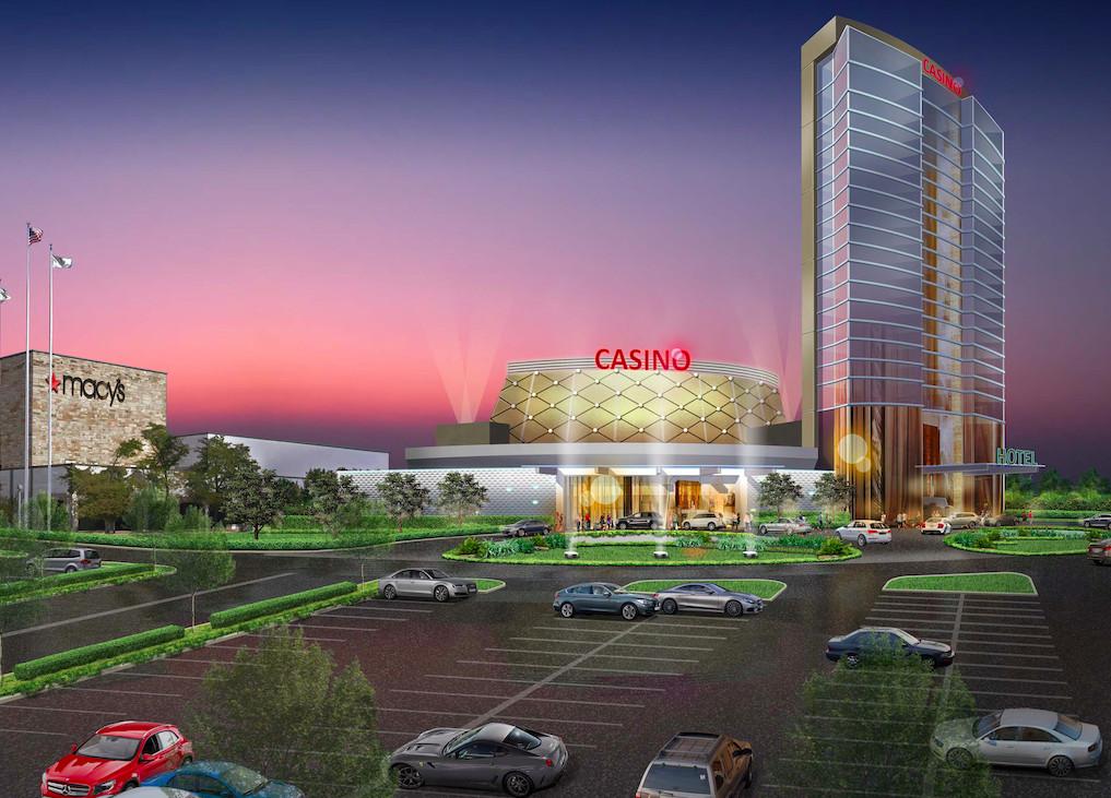 Rendering of the proposed Calumet City casino.